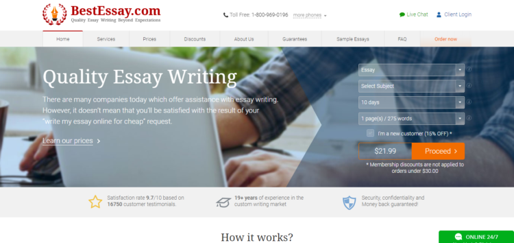 Bestessaycom Review  Lets Reveal The Truth  Best Writing Clues Bestessaycom Review