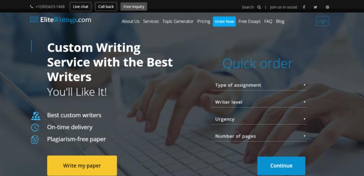 Elitewritings.com Review