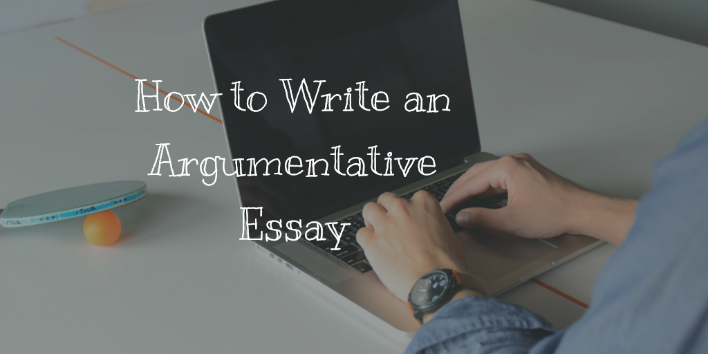 how to write argumentative research paper